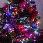100-500 LED String Fairy Lights on White Cable for Christmas Tree Party Wedding