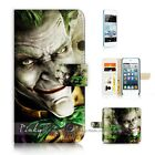 ( For iPod Touch 5 ) Wallet Case Cover P21180 Joker
