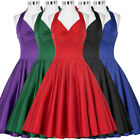 Ladies Housewife Vintage 40s 50s Swing Pinup Prom Girls Party Evening PROM Dress