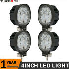4x240W LED Work Lights Pods Flood Fog Offroad Lamp For ATV JEEP UTE SUV 4'' Cube