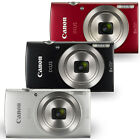 Canon IXUS 185 20MP Point and Shoot Digital Camera Black or Red