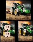 Tractors light switch plate wall plates kids room bedroom bathroom mancave farm