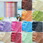Glitter String Curtain Panels Fly Screen & Room Divider Voile Net Curtains Home