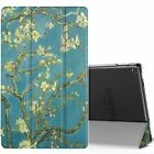 MoKo Slim Smart Shell Stand Cover Auto Wake/Sleep Case For Amazon Fire HD 10 7th