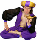 World Book Day/Sultan/Panto ALADDIN/GENIE Childs Fancy Dress Costume ALL AGES