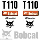 Bobcat T110 DECALS Stickers Skid Steer loader New Repro decal Kit