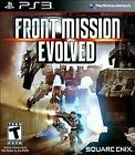 Front Mission Evolved (Sony PlayStation 3 PS3, 2010) *NEW OTHER*