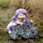 Resin Mermaids Garden Ornaments Gnomes Statues Gifts Home Fish Tank Decor