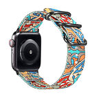 Genuine Leather Strap Wrist Bands for Apple Watch Series 3 Series 2 / 1 All 38mm image