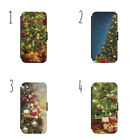 Christmas Tree Wallet Flip Case Cover iPhone & Samsung