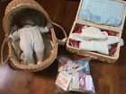Americn Girl doll with many accessories - cloth, toys, basket and accessory box