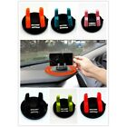 6 colors PC Silicone Car Desktop Mount For GPS Phone Portable Easy Install WS