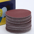 "10X 4"" Mix 40-2000 Grits Sander Disc Sanding Polishing Pad Wheel Sandpaper Metal"