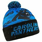 Forever Collectibles NFL Adult's Carolina Panthers Light Up Printed Beanie