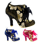 Womens Irregular Choice Abigails Third Party Mid Heels Court Shoes UK 3.5-8.5