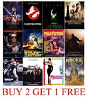 CLASSIC MOVIES Poster A4 A3 Print Film - MATT OR GLOSSY - BORDERED OR BORDERLESS