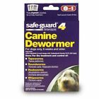 Dog Canine Safe-guard dewormer 10, 20, 40 lbs buy one get one free