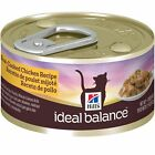 Hill's Ideal Balance Adult Slow-Cooked Chicken Recipe Canned Cat Food, 2.9 oz,