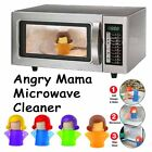 Cleaning Supplies Convenience Tool Microwave Cleaner Character Shape 4 Colors EI