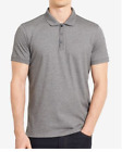 Calvin Klein Men's Liquid Cotton Short Sleeve Polo Shirt VARIETY COLORS AND SIZE