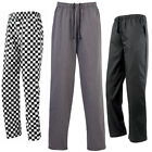 New Mens Premier Essentials Chef's Trouser 2 swing side pockets In Size XS-4XL