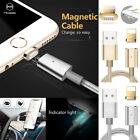 MCDODO Magnetic LED Lightning USB Sync Data Charging Cable F iPhone X 8 7 6 Plus