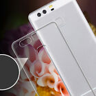 Silicone Clear Transparent TPU Ultrathin Soft Case Cover For Huawei P9/P9 Plus `