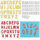 5CM A-Z 0-9 Alphabet Number Stencils DIY Cutting Dies Scrapbooking Album Craft
