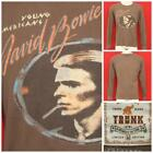 "Trunk Ltd David Bowie Limited Edition Long Sleeve Shirt Med 21"" Pit2Pit OCT-51"