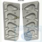 Flat Pear Carp Weight Mould Ideal for carp barbel tench ledgering ponds lakes