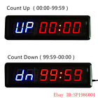 Large 1.8'' Fitness Gym WOD CrossFit Interval Timer Countdown Stopwatch Training