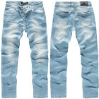 Rock Creek Designer Herren Jeans Denim Jeanshose Herrenhose Stretch Jeans M18