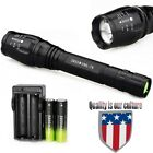 2Sets 12000LM 5Mode XML T6 LED Flashlight Camping 18650 Battery+Charger >