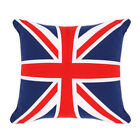 100% Cotton Union Jack Cushion Covers,Sofa Cases Couch Pillow 18