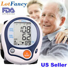 Automatic Wrist Blood Pressure Monitor BP Cuff Heart Rate Tester Meter Machine