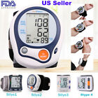Automatic Digital Wrist Blood Pressure Cuff BP Monitor Home Heart Rate Test Case