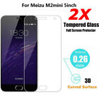 2X Screen Protector REAL Tempered Glass Film For Meizu Pro6/MX6/M2 Note/M3 Max
