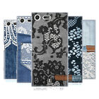 HEAD CASE DESIGNS JEANS AND LACES SOFT GEL CASE FOR SONY XPERIA XZ PREMIUM