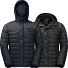 Jack Wolfskin Mens Richmond Insulated Hooded Windproof Down Jacket