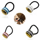 Yoocart Metal Hair Accessories Cuff Stretch Ponytail Elastic Rope Hairband Tie