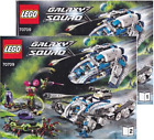 NEW INSTRUCTIONS ONLY LEGO GALACTIC TITAN 70709 Galaxy Squad books from set