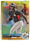 Isael Soto 2017 Bowman Chrome MINI Prospect GOLD Refractor #'d 27/50 - MARLINS