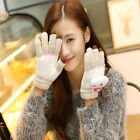 Cute Cartoon Animals Touch Screen Glove Women's Winter Warm Fashion Gloves 2018