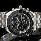 INFANTRY MENS DIGITAL QUARTZ WRIST WATCH CHRONOGRAPH ARMY SPORT STAINLESS STEEL <br/> ◆GENUINE INFANTRY◆Ship from UK◆BUY 1, GET 1 AT 5% OFF◆