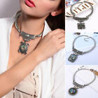 Vintage Ethnic Style Necklace Long Chain Statement Penndant Women Jewelry Gift
