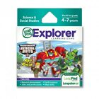 Leapfrog Explorer Learning Game Hasbro Transformers Rescue Bots Race to The