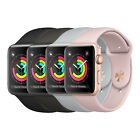 Original Smartuhr Apple Watch 3 8 GB Smartwatch Sportarmband Aluminiumgehäuse