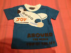 NEW***FIRST COUNT® Quality Toddler Boys Short Sleeve Top***Blue***Size 1,2 or 3
