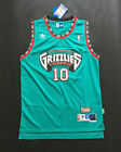 Vancouver Girzzlies Mike Bibby Green 10 Throwback Swingman Men Jersey NEW