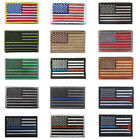 EMBROIDERED US STARS & STRIPES COLOUR, COYOTE & DESERT FLAG PATCH,VELCRO® BRAND